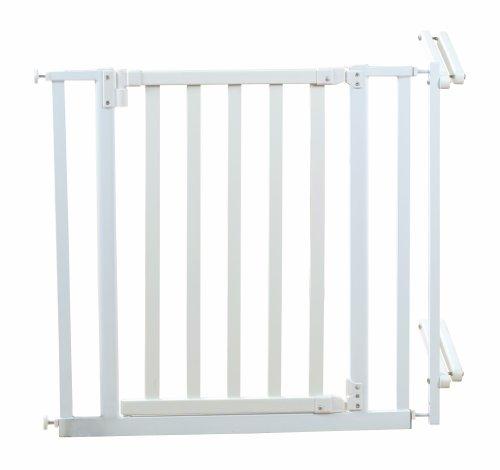 Roba 1548W – Treppenschutzgitter, Holz/Metall