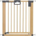 Geuther 2746 Holz-Türschutzgitter Easylock Natur, zum klemmen und schwenken, Verstellbereich: 75.5 - 83.5 cm, Höhe: 82.5 cm